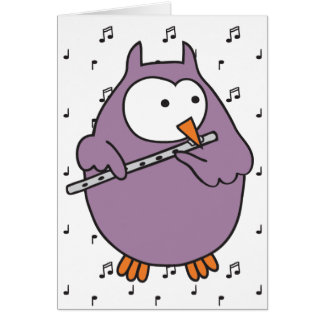 Hooter Fluter Greeting Card