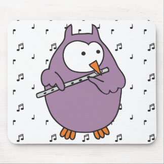 Hooter Fluter Mouse Pad