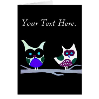Hooter Lover Greeting Card