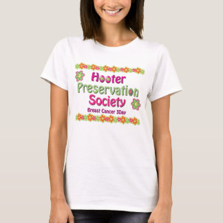 Hooter Preservation Society Ladies Fitted Tshirt