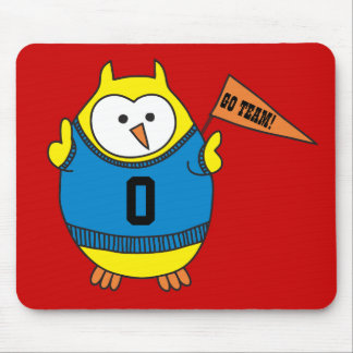 Hooter Rooter Owl Mouse Pad