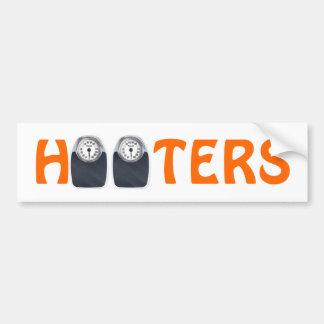 Hooters Car Bumper Sticker