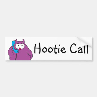 Hootie Call Bumper Sticker