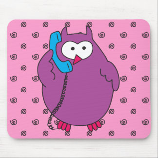 Hootie Call Mouse Pad