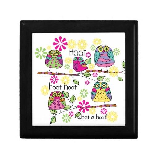 Hootie Owl Keepsake Box
