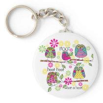 Hootie Owl Keychain