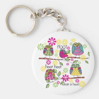 Hootie Owl Keychains