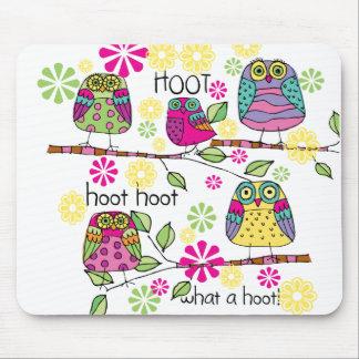 Hootie Owl Mousepads