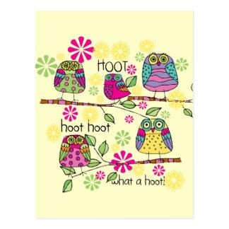 Hootie Owl Postcard
