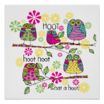 Hootie Owl Posters