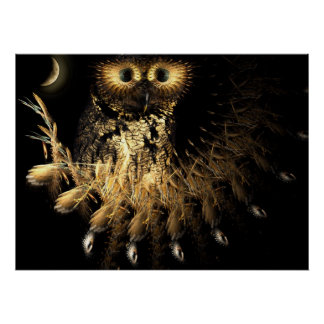 Hootie Owls Nest Poster
