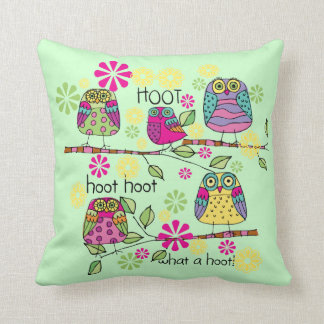 Hootie Owls Pillows