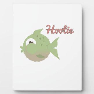 Hootie Display Plaque