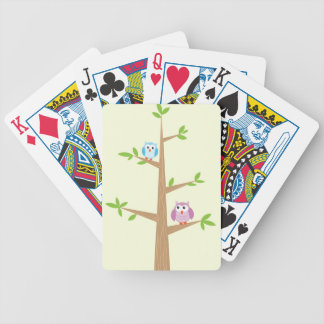 Hootin alrededor baraja de cartas