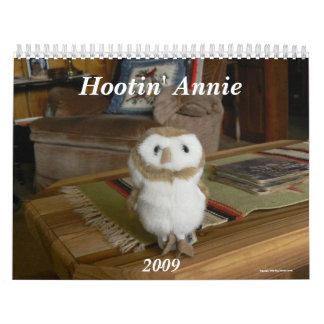 Hootin' Annie 2009 Calendar