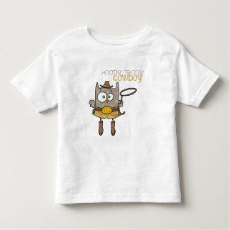 Hootin' Tootin' Cowboy Owl t-shirt
