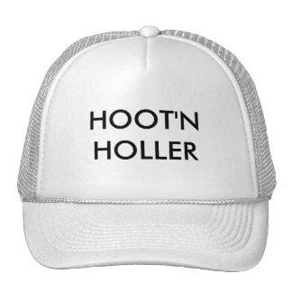 HOOT'N HOLLER TRUCKER HAT