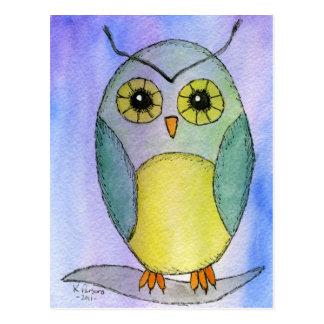 Hoots the Owl Postcard