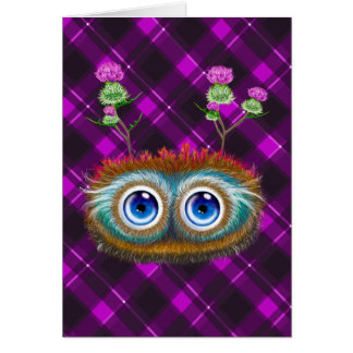 Hoots Toots Haggis! Card