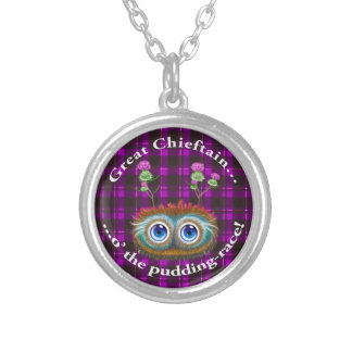 Hoots Toots Haggis. Great Chieftain Silver Plated Necklace
