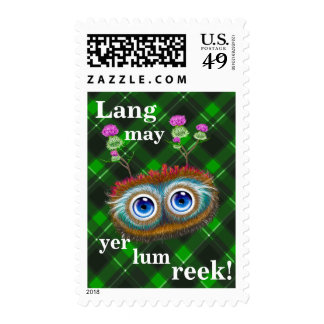 Hoots Toots Haggis. Lang May Yer Lum Reek! Stamps