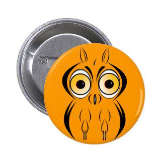 Hooty 2 Inch Round Button