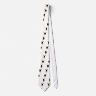 Hooty New year! Hipster owl Neck Tie
