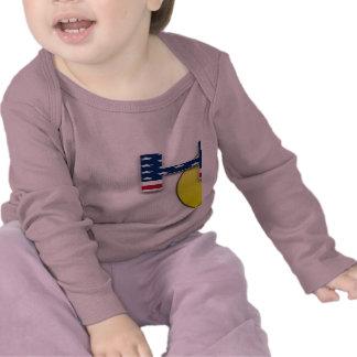 Hooty que manga larga infantil camiseta