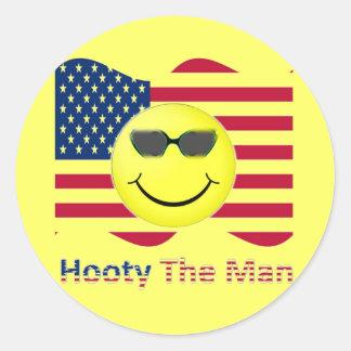 Hooty The Man Stickers