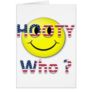Hooty Who Greeting Card