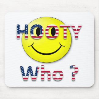 Hooty Who Mouse Pad