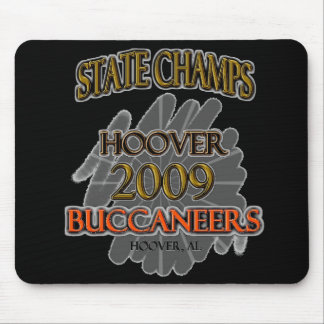 Hoover Buccaneers 2009 Alabama State Champs! Mouse Pad