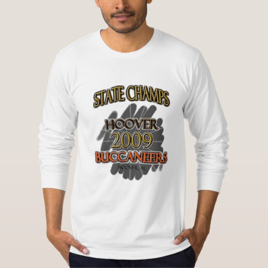 Hoover Buccaneers 2009 Alabama State Champs! T-Shirt