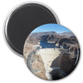 Hoover Dam 2 Inch Round Magnet