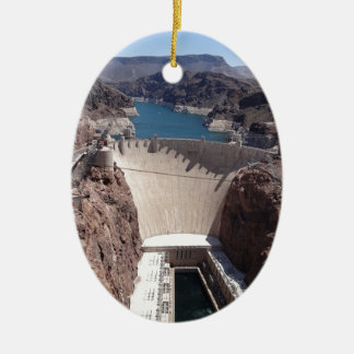 Hoover Dam 3 Ceramic Ornament