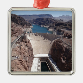 Hoover Dam 3 Metal Ornament