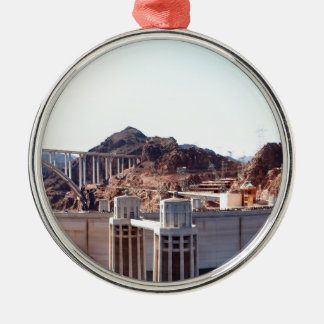 Hoover Dam 5 Metal Ornament