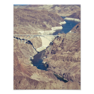Hoover Dam Aerial Photograph