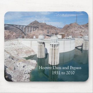 Hoover Dam and Bypass      1931 to 2010 Mouse Pad