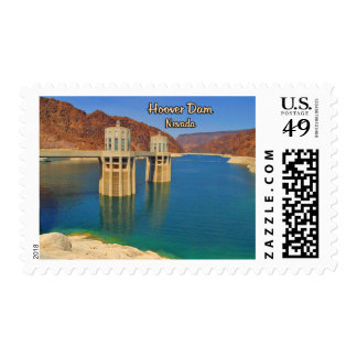Hoover Dam and Lake Mead Postage Stamps