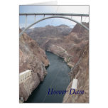 Hoover Dam Bridge Greeting Cards