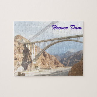 Hoover Dam Bridge Jigsaw Puzzle