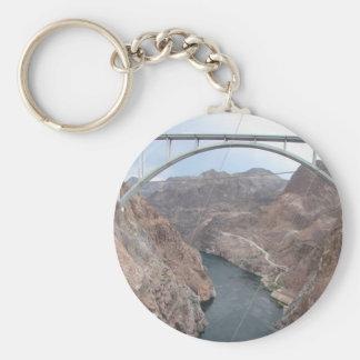 Hoover Dam Bridge Keychain