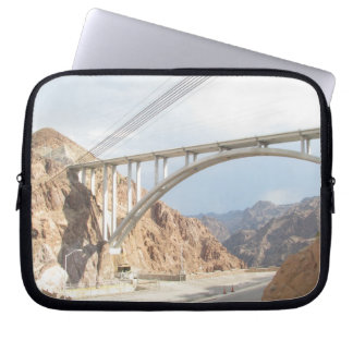 Hoover Dam Bridge Laptop Computer Sleeves