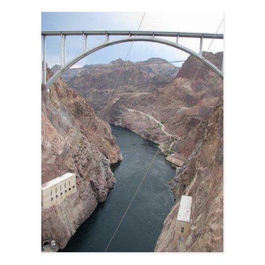 Hoover Dam Bridge Postcard