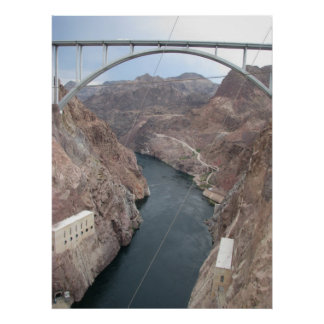 Hoover Dam Bridge Print