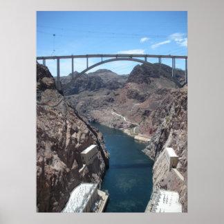 Hoover Dam Bridge Posters