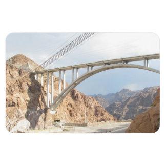 Hoover Dam Bridge Rectangular Photo Magnet
