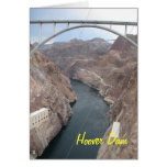 Hoover Dam Bridge Stationery Note Card
