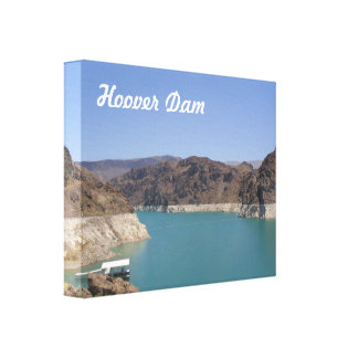 Hoover Dam Stretched Canvas Print